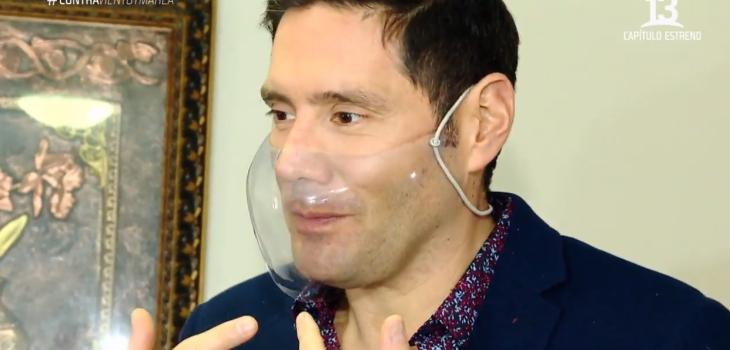 Francisco Saavedra explicó por qué utilizan mascarillas transparentes en 'Contra Viento y Marea'
