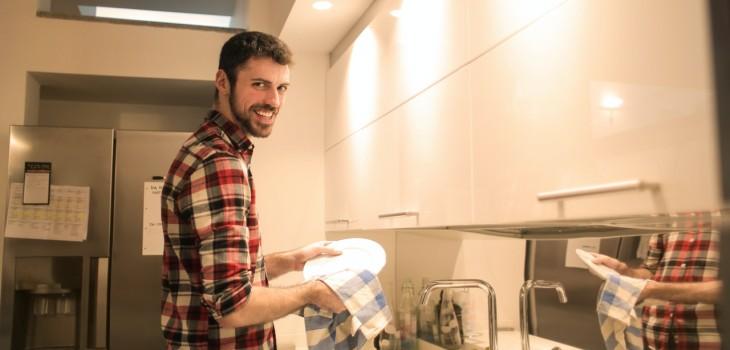 cómo limpiar el lavaplatos
