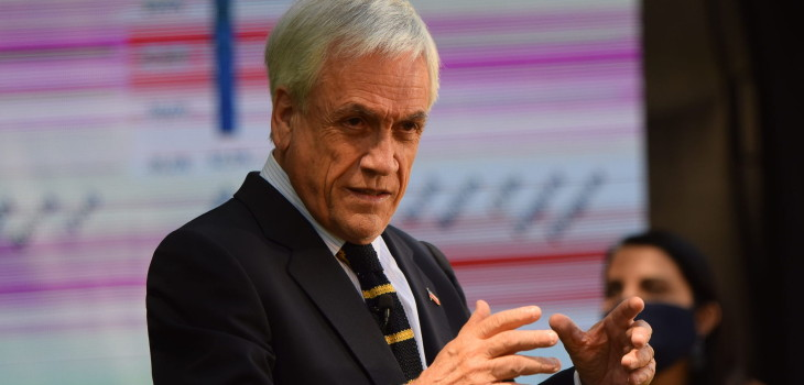 Piñera afirma que segundo 10% es