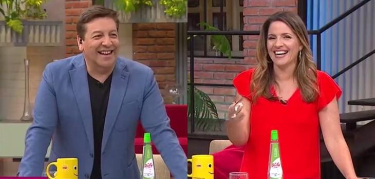 Monserrat Álvarez y su divertido lapsus en festejo de 60 años de CHV: Julio César lanzó ácida broma