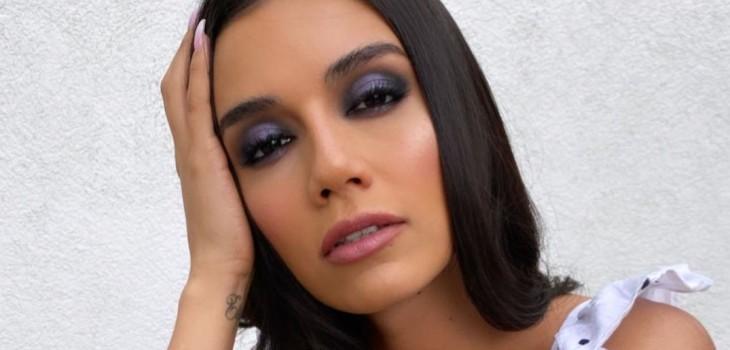 Steffi Méndez posa para marca de alta costura