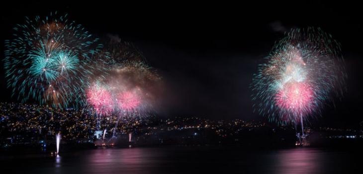 Show de Año nuevo en Valparaíso por aumento de casos de COVID-19