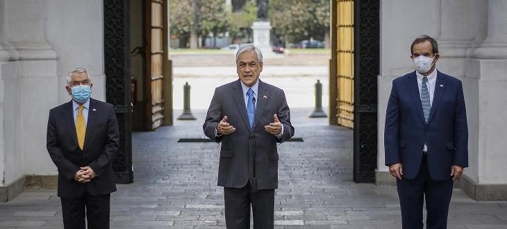 Presidente Piñera anuncia que este jueves iniciará proceso de vacunación en Chile