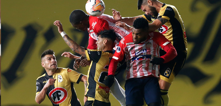 Sudamericana: Coquimbo Unido accedió a semifinales pese a perder con Junior