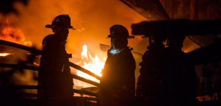 Tres cabañas destruidas dejan dos nuevos ataques incendiarios en Contulmo