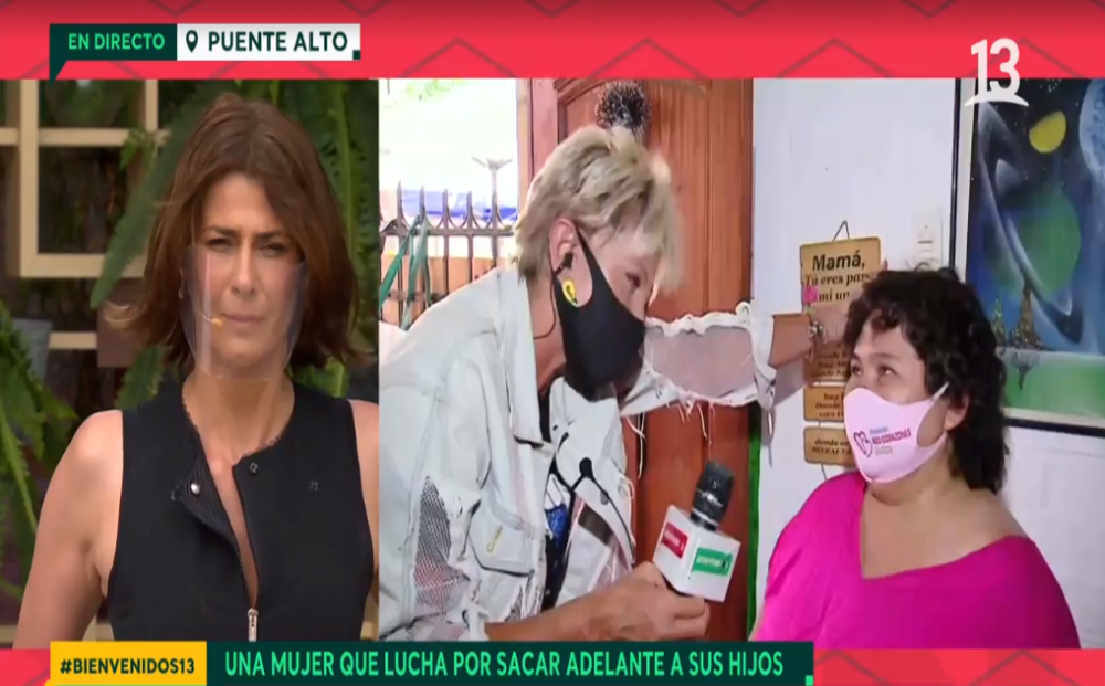 Raquel Argandoña en Canal 13
