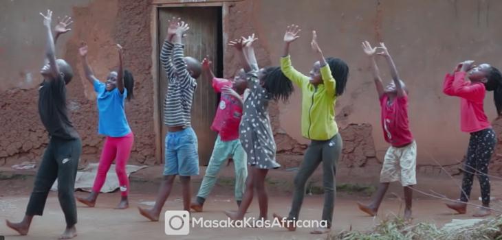 Masaka Kids y su baile viral navideño