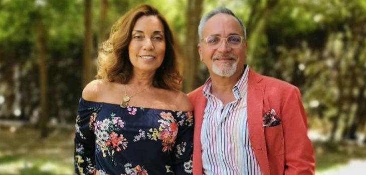 Luis Jara y mensaje cumpleañero a su esposa