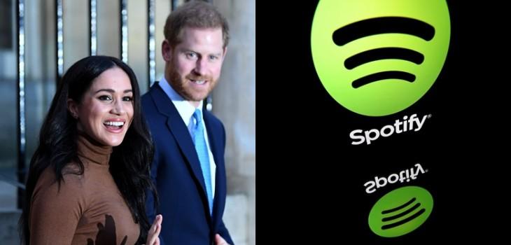 El nuevo proyecto del príncipe Harry y Meghan Markle: firmaron con Spotify para producir un podcast