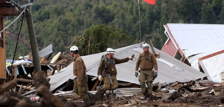 A 3 años de la tragedia, rinden homenaje a 22 víctimas del aluvión en Chaitén
