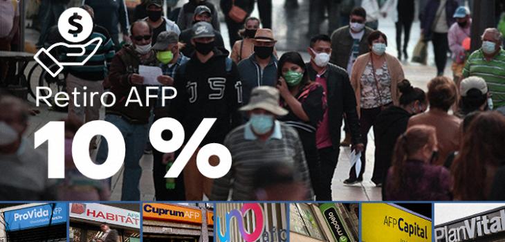 Casi 6 millones de afiliados recibieron su segundo 10% de las AFP antes de Navidad