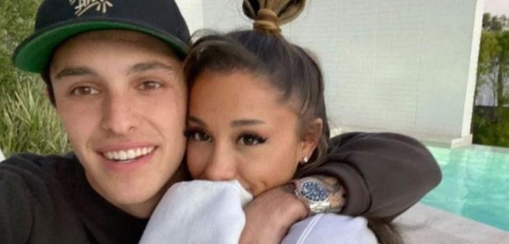 matrimonio de Ariana grande y dalton gomez