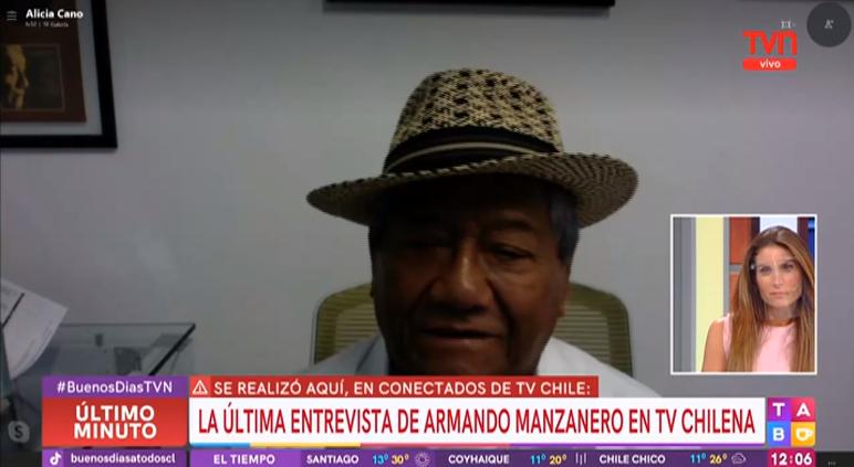 Así fue la última entrevista de Armando Manzanero en TV Chile
