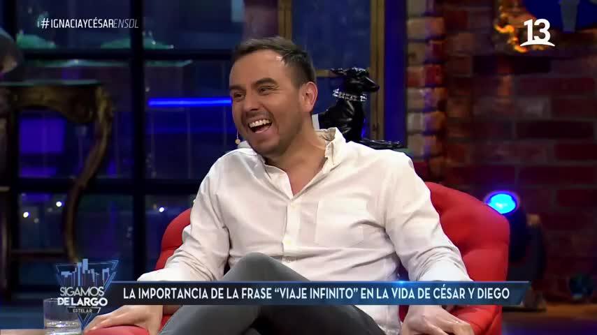 César Campos en Sigamos de largo