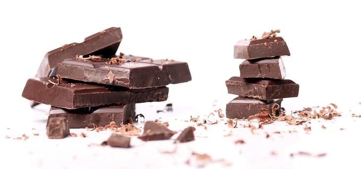 Chocolate en el refrigerador