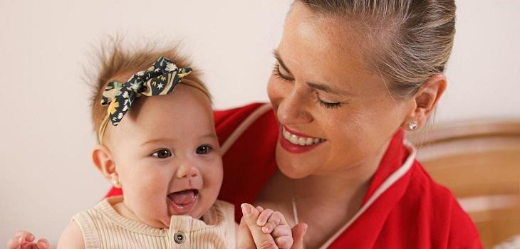 Eliana Albasetti y el estado de salud de su hija