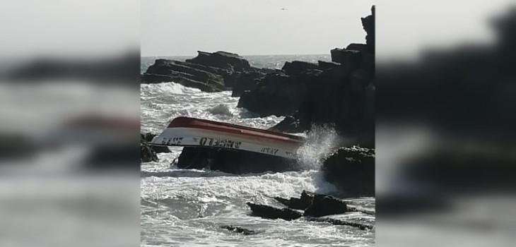 Pescador muere tras volcamiento de embarcación en Isla Mocha: otros dos resultaron lesionados