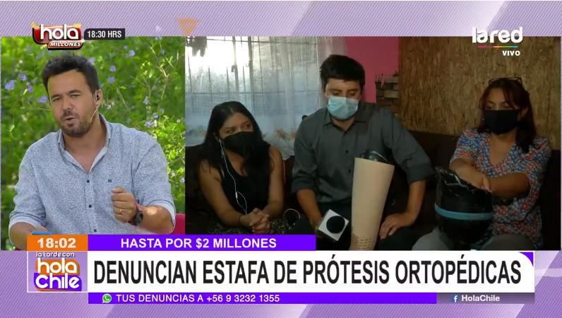 Eduardo de la Iglesia enojado en Hola Chile