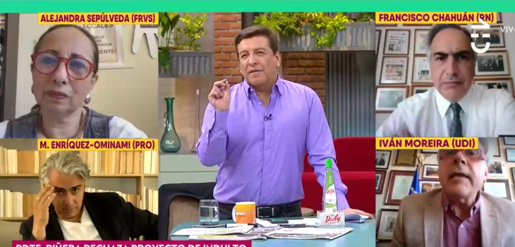 Iván Moreira y Julio César Rodríguez protagonizaron nuevo round en CHV