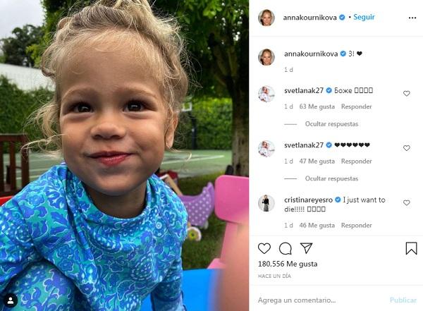 lucy hija de anna kournikova y enrique iglesias