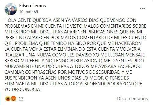 facebook eliseo lemus