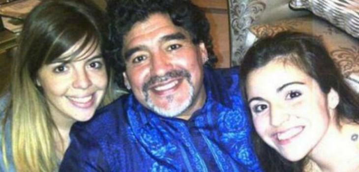 El sencillo pero significativo tatuaje que hijas de Maradona se hicieron en homenaje a su padre