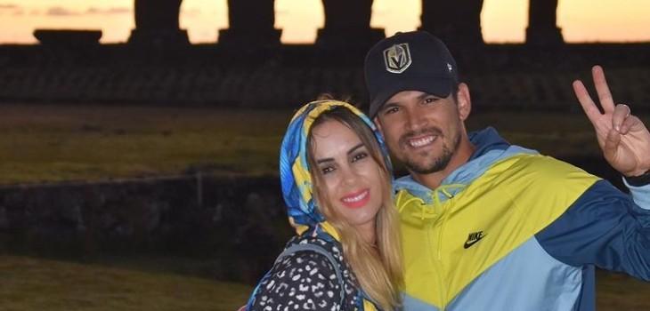 Maura Rivera y Mark González celebraron 10 años de matrimonio