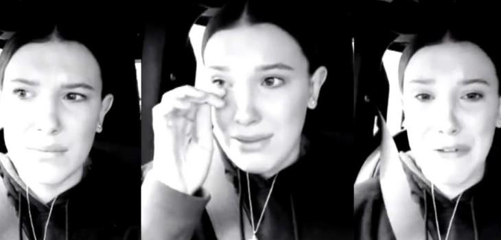 Millie Bobby Brown lloró al relatar acoso que sufrió por parte de una