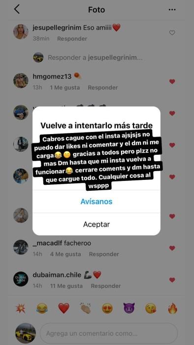 """Nano Calderón se mostró contento con """"bienvenida"""" de seguidores a Instagram: """"Gracias por el apoyo"""""""
