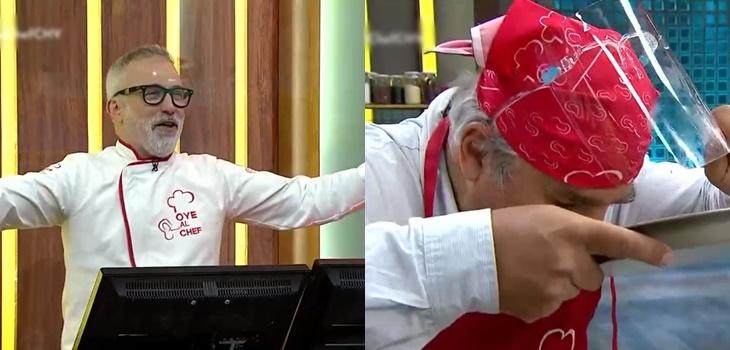 La actitud que tomó Nicolás Larraín en 'Oye al Chef' que identificó a más de algún televidente