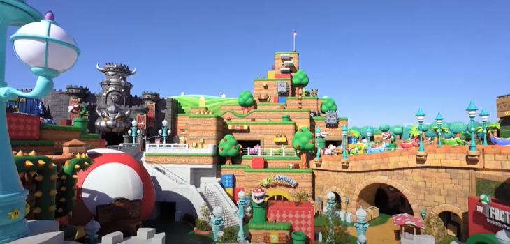 Shigeru Miyamoto, el creador de Mario, mostró cómo es el nuevo parque Super Nintendo World