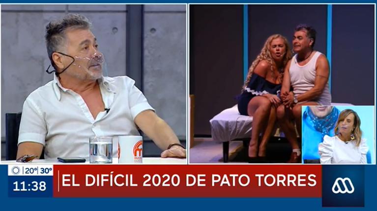 Pato Torres reveló compleja medida que debe tomar cuando ve a sus hijos