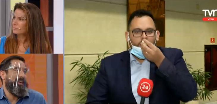 Periodista comió mientras estaba en vivo en Buenos días a todos