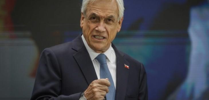 Piñera lamenta balacera en Maipú y anuncia proyecto de ley para combatir el crimen organizado