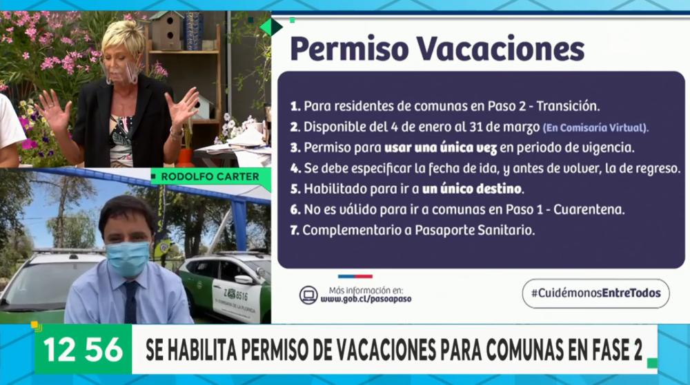 Raquel Argandoña y Dra. Herrera protagonizaron discusión por permiso de vacaciones del Gobierno