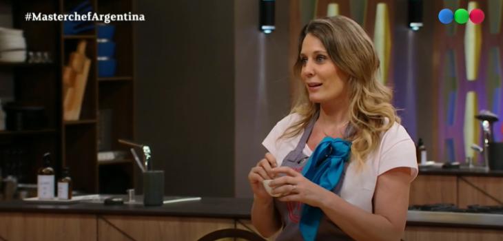Rocío Marengo protagonizó el momento más tenso de 'MasterChef Celebrity Argentina'