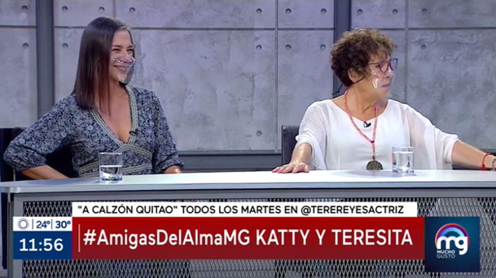 """Teresita Reyes reclamó en Mucho Gusto por estar menos de 10 minutos en set: """"¿Para qué te invitan?"""""""