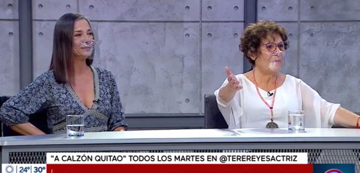Teresita Reyes reclamó en Mucho Gusto por estar menos de 10 minutos en set: