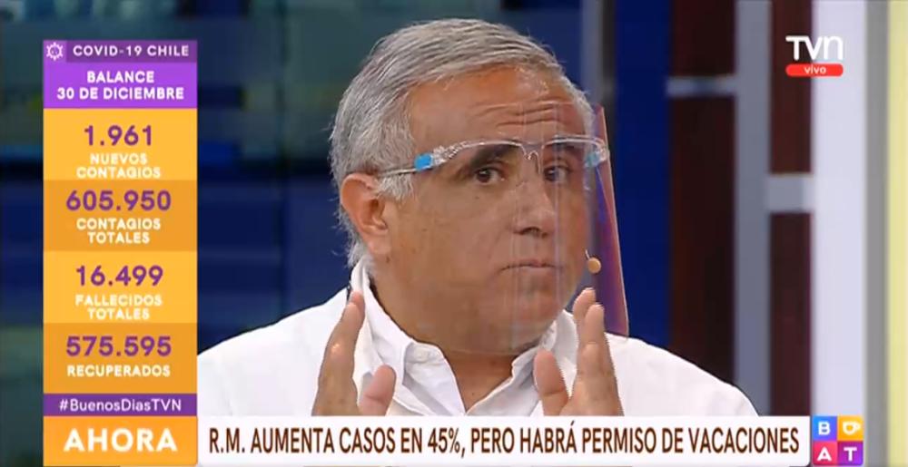 Gonzalo Ramírez reacciona por permiso de vacaciones para Fase 2