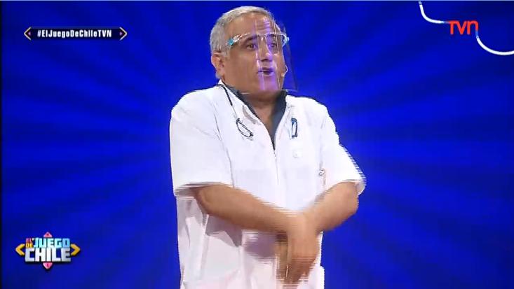 Doctor Ugarte en El juego de Chile