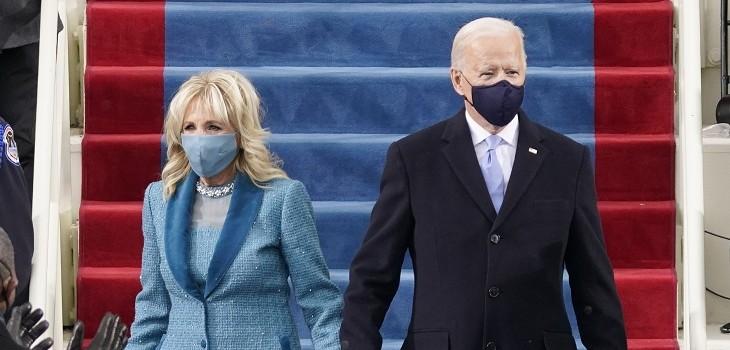 Joe Biden ceremonia cambio de mando