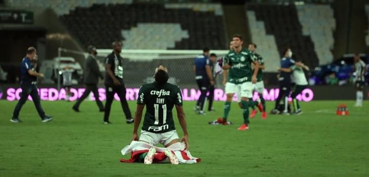 Palmeiras venció en la agonía al Santos y ganó la Copa Libertadores