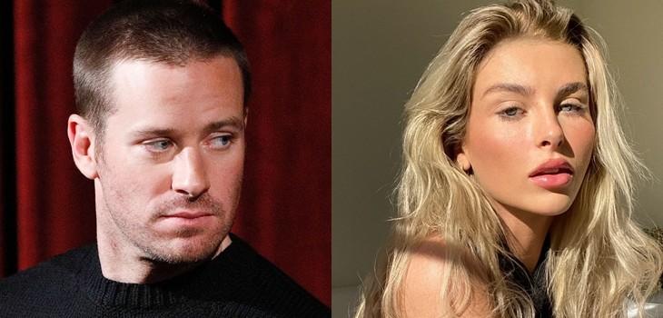 Ex de Armie Hammer aseguró que actor la marcó con cuchillo durante juego sexual: detalló otros actos