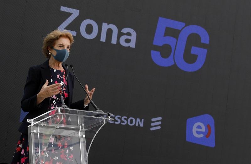 """Gobierno y Entel inauguran primera """"Zona 5G"""" de Chile y Latinoamérica"""