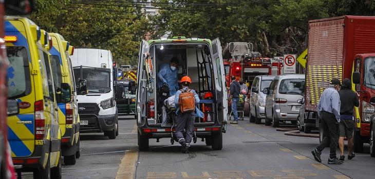 detienen a persona en Hospital San Borja