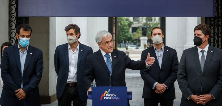 Piñera fijó las prioridades para sus últimos 14 meses de gobierno