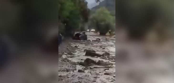reportan nuevo aluvión