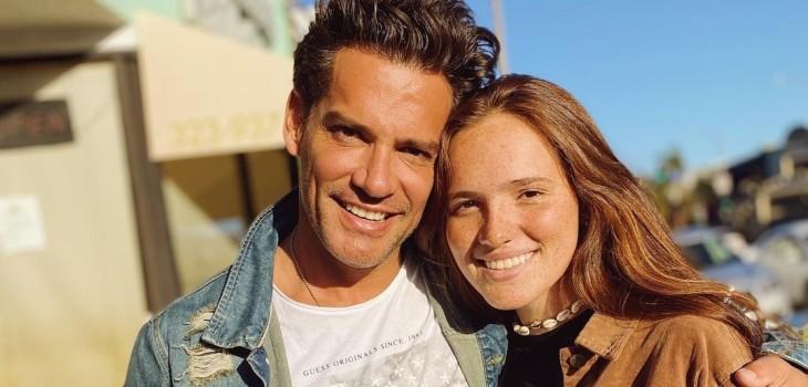 Cristian de la Fuente e hija