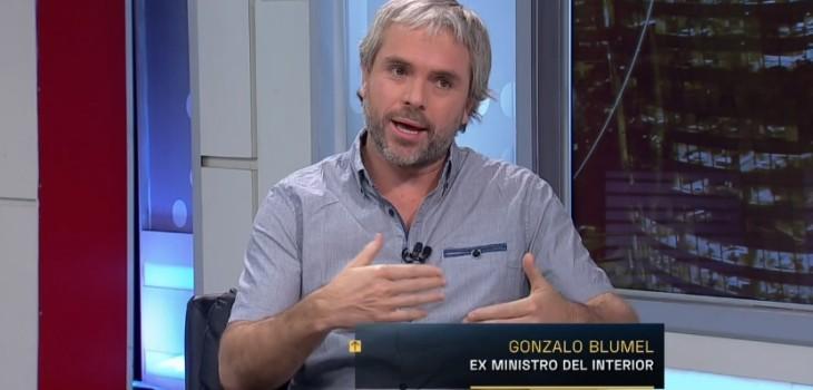 Gonzalo Blumel en TVN