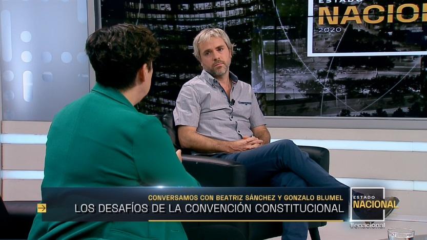 Gonzalo Blumel y Beatriz Sánchez